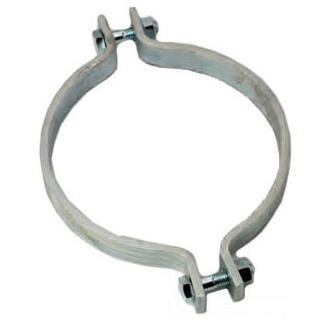 "3/4"" Steel 2-Piece Riser Short Ear Pipe Clamp"