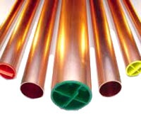"1"" x 20' Cleaned & Capped Soft/Hard Copper Tubing - 1-1/8"" OD"