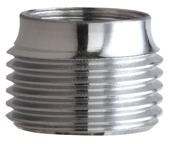 Full-Flow Faucet Outlet Adapter, Rough Chrome