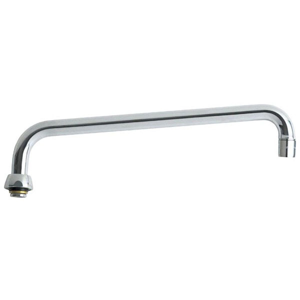 """Type L 360 Degree Swing Faucet Spout, Chrome Plated 12"""""""