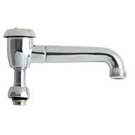 """5-3/4"""" Type L 360 Degree Swing Faucet Spout, Chrome Plated"""