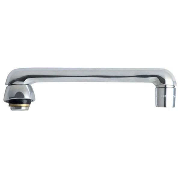 """Type S 360 Degree Swing Faucet Spout, Chrome Plated 6"""""""