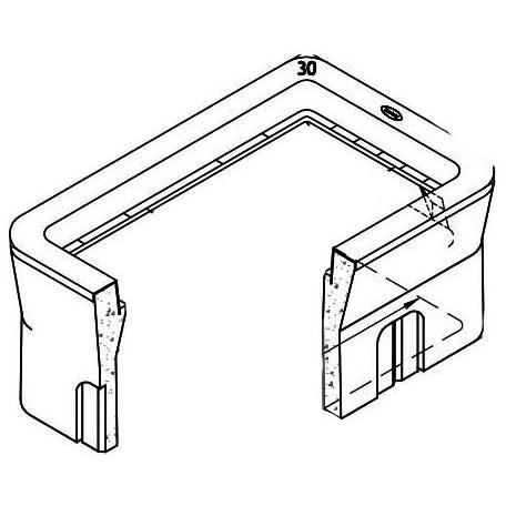 Utility Box, Etched Polypropylene