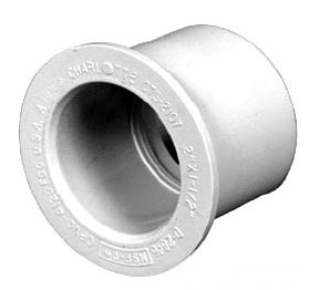 "1-1/2"" x 3/4"" CPVC Reducing Bushing - FlowGuard Gold, Spigot x Socket"