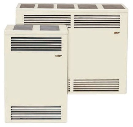15000 BTU Natural Gas Wall Furnace - Direct-Vent, Steel Chamber