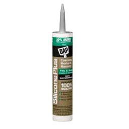 10.1 Oz Silicone Rubber Sealant, Gray