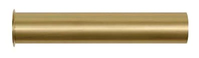 """1-1/2"""" X 12"""" Flanged Strainer Tailpiece, Brass Chrome Plated"""