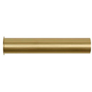 """1-1/2"""" X 8"""" Flanged Strainer Tailpiece, Brass Rough Brass"""
