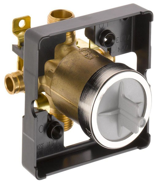 MultiChoice PEX Tub and Shower Rough-In Valve, Forged Brass