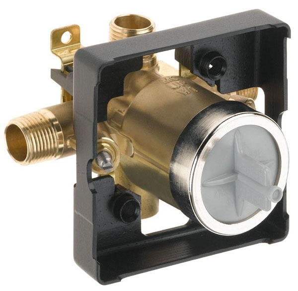 """1/2"""" Universal Tub and Shower Rough-In Valve - MultiChoice, MPT / CWT C, Forged Brass"""