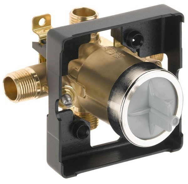 "1/2"" Universal Tub and Shower Rough-In Valve - MultiChoice, MPT / CWT C, Forged Brass"