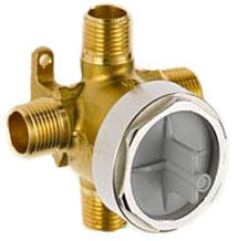 Charlotte Diverter Rough-In Valve, Forged Brass