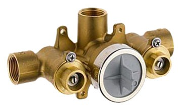Euro Sensori Thermostatic Rough-In Valve, Forged Brass