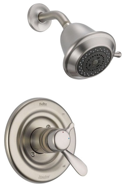 Classic Shower Trim Kit - Monitor 17, Single Lever Handle, Brilliance Stainless, 1.75 GPM