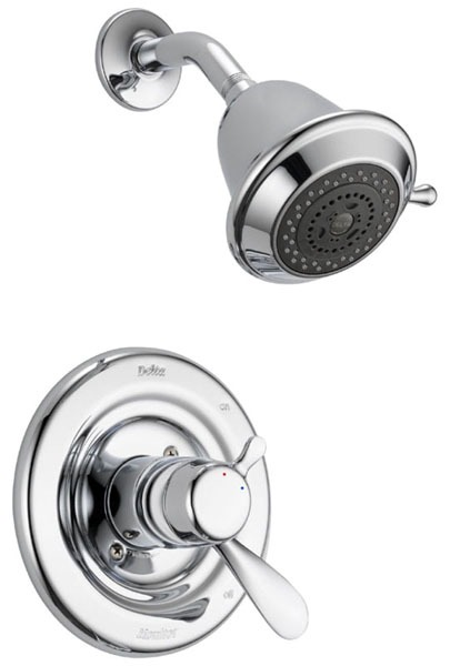 Classic Shower Trim Kit - Monitor 17, Single Lever Handle, Chrome Plated, 1.75 GPM