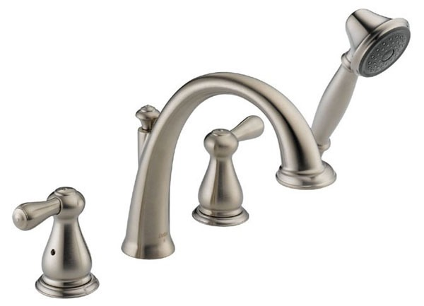 Leland Roman Tub Trim and Hand Shower - Brilliance Stainless