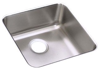 17X17 18 Gauge Single Undermount Sink