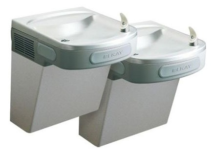 Bi-Level Water Cooler - 8 GPH, Wall Mount, Light Gray Granite, Non-Filtered