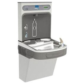 EZH2O Bottle Filling Station with Single ADA Cooler, Filtered 8 GPH Stainless