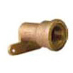 "1/2"" Brass Alloy Female Hi-Ear Straight Adapter"