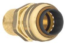 "1/2"" Copper Male Straight Adapter"
