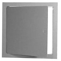 """16"""" Square 1-Piece Square Dry Wall Access Door, 16 Gauge Galvannealed Steel"""