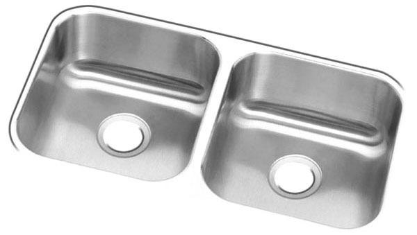 """31 X 18 X 8"""" Undermount Sink, Stainless Steel"""