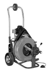 100' Cable Drain Cleaning Machine - Sewerooter T-3