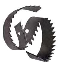 2-Piece Drain Cleaner Machine Saw Blade