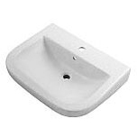 "Wicker Park 24-5/8"" X 19-3/8"" Wall Mount Bathroom Sink, Vitreous China White"