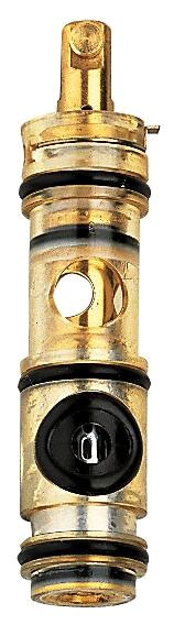 Euromix, LadyLux Thermostat Valve Cartridge, Chrome Plated