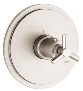 Cross Faucet Valve Trim Brushed Nickel