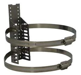 "9"" Water Heater Restraint - Quick Strap, Galvanized and Stainless Steel"