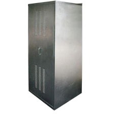 """30"""" x 30"""" x 74"""" Water Heater Enclosure - Quick Shed, Galvanized, Steel"""