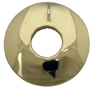Circular Shower Arm Flange PVD Coated Polished Brass