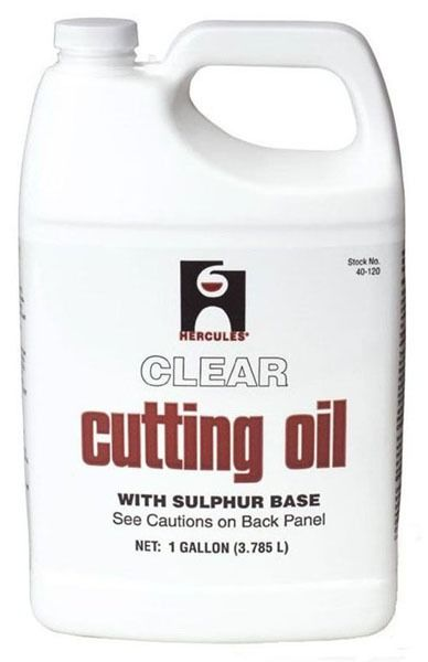 Cutting Oil, Clear 1 Gallon