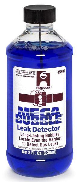 Gas Bubble Leak Detector - Megabubble, Blue, 1 qt. Spray Bottle