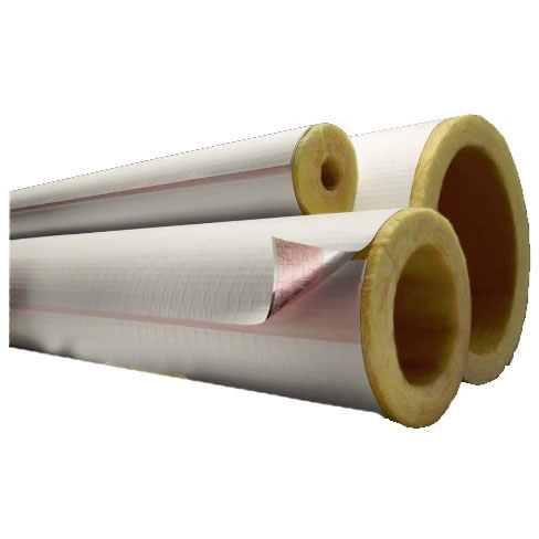 "2-1/8"" X 1-1/2"" Roll Pipe Insulation, Fiberglass"