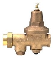 "2"" Cast Bronze Water Pressure Reducing Valve - FPT Union x FPT, 300 psi"