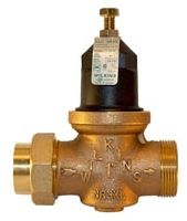 "1-1/4"" Threaded Union/Soldered Union Pressure Reducing Valve, Cast Bronze"