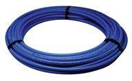 "1/2"" x 20' Blue Copper Straight Length Non-Barrier Tubing - Zurn Pex"