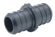 """1/2"""" Polymer Straight Coupling"""