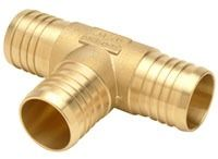 "1-1/4"" x 1-1/4"" x 3/4"" Brass Reducing Tee"