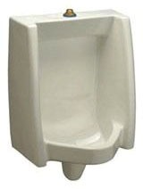 """Commercial Washout Urinal - 0.5 to 1 GPF, 3/4"""" Top Spud Inlet"""