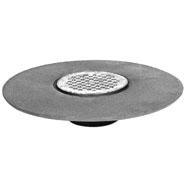 "5"" Round Adjustable Drain Strainer, Polished Nickel Bronze Top"