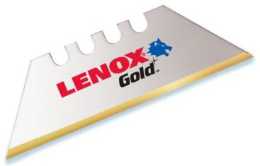 Utility Knife Blade - LENOX Gold, Titanium Coated Steel