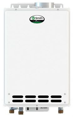 Tankless Water Heater, Natural Gas - Indoor, 10.0 GPM, 199K BTU, Residential Or Commercial; 120V