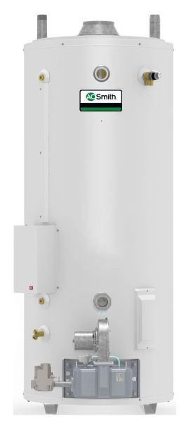 100 Gallon Natural Gas Commercial Water Heater - Master-Fit Ultra-Low NOx, 275000 BTU