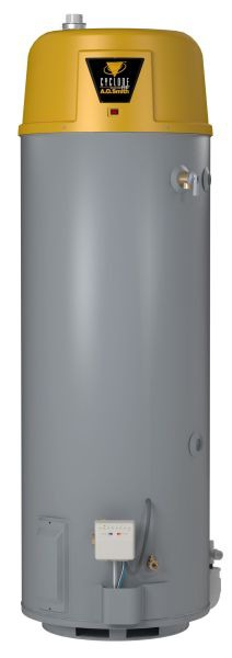 50 Gallon Natural Gas Commercial Water Heater - Cyclone Xi, 76000 BTU