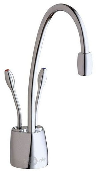 Hot and Cold Water Dispenser, Lead-Free Brushed Chrome